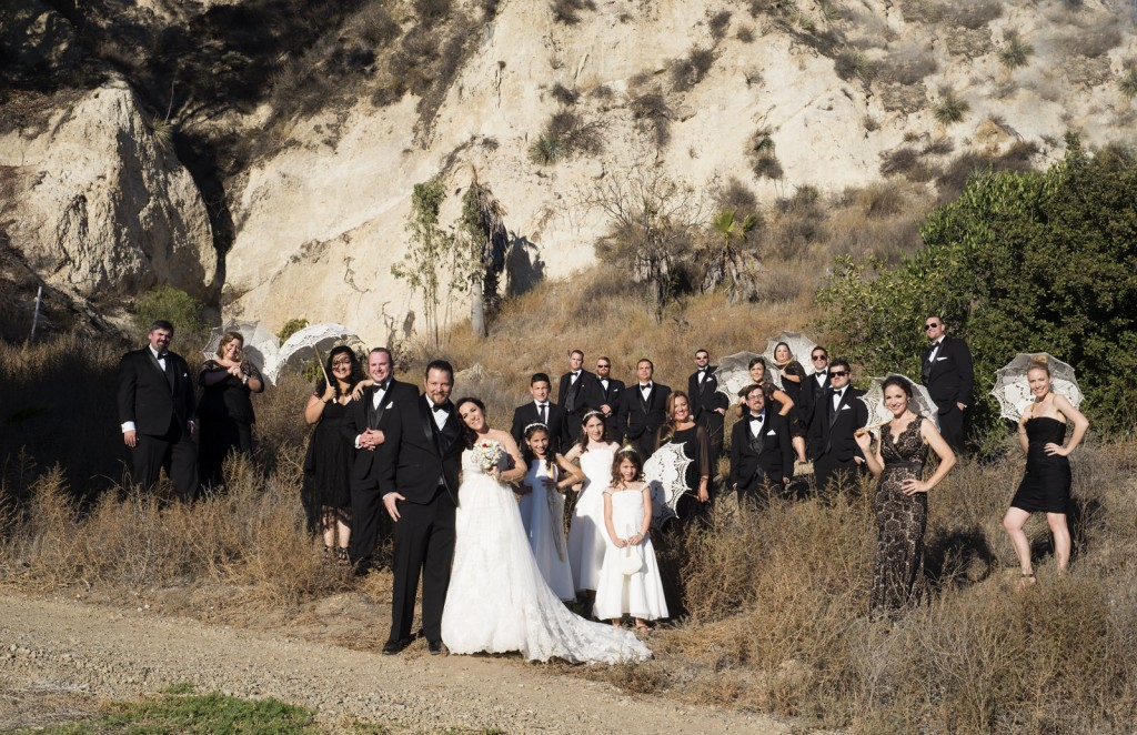 California bridal party