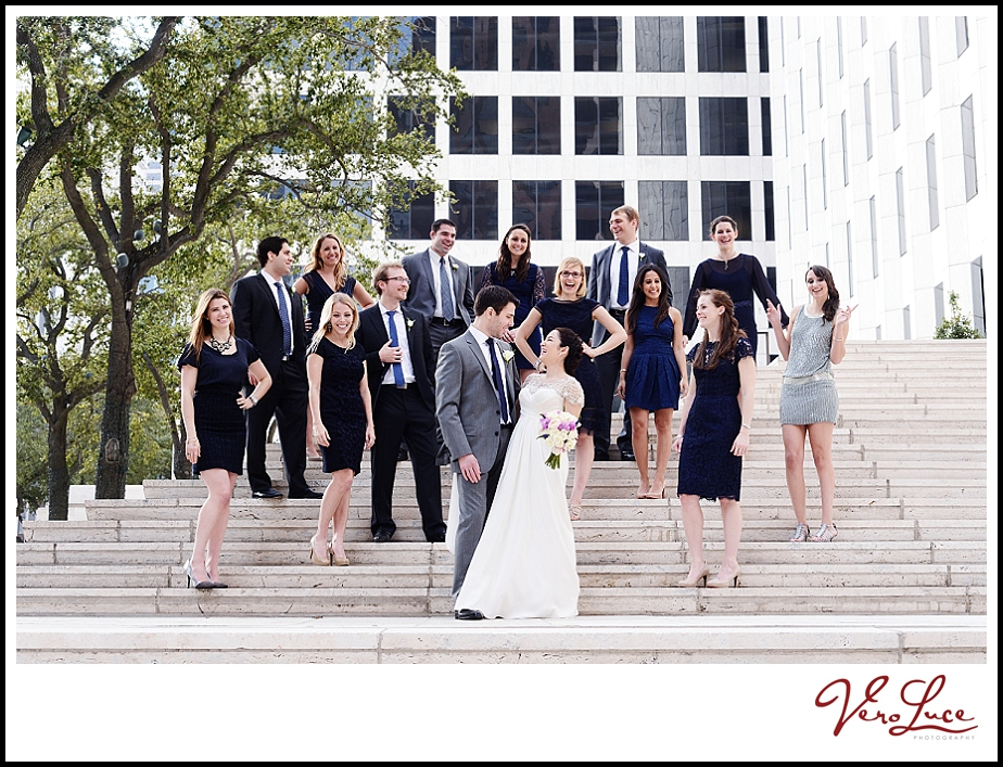 New Orleans bridal party
