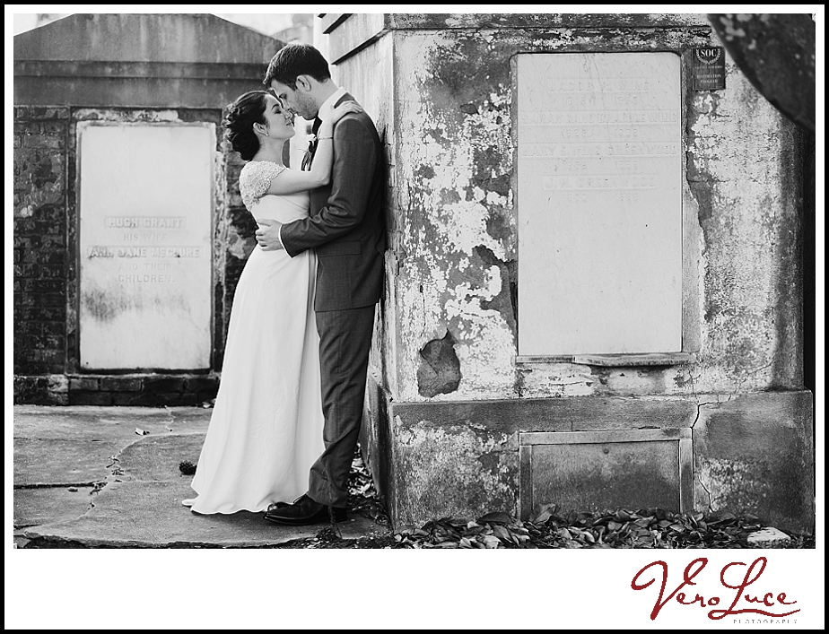 New Orleans wedding Lafayette Cemetery