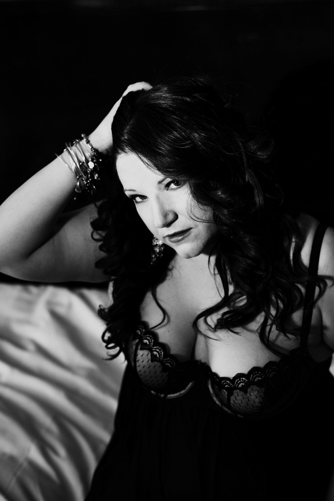 boudoir black and white