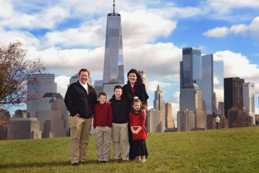 family nyc skyline